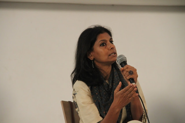 Nandita Das discussing legacies of Partition at Godrej India Culture Lab-