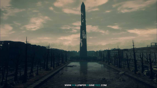 Fallout3 The Washington Monument Wallpaper Engine