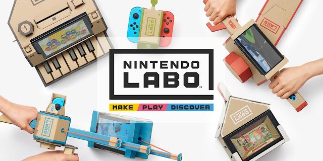 Nintendo Labo: Release Details.