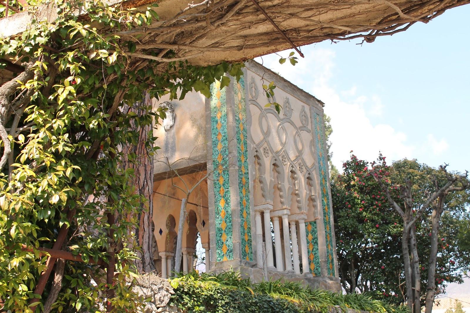 Undiarioperduesorelle i giardini di villa cimbrone i luoghi del cuore - Giardini di villa cimbrone ...