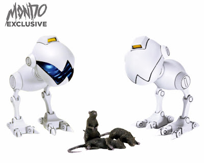 Mondo Exclusive Teenage Mutant Ninja Turtles Mousers 1/6 Scale Collectible Figure 2 Pack by Mondo
