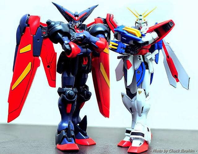 master and god gundam war