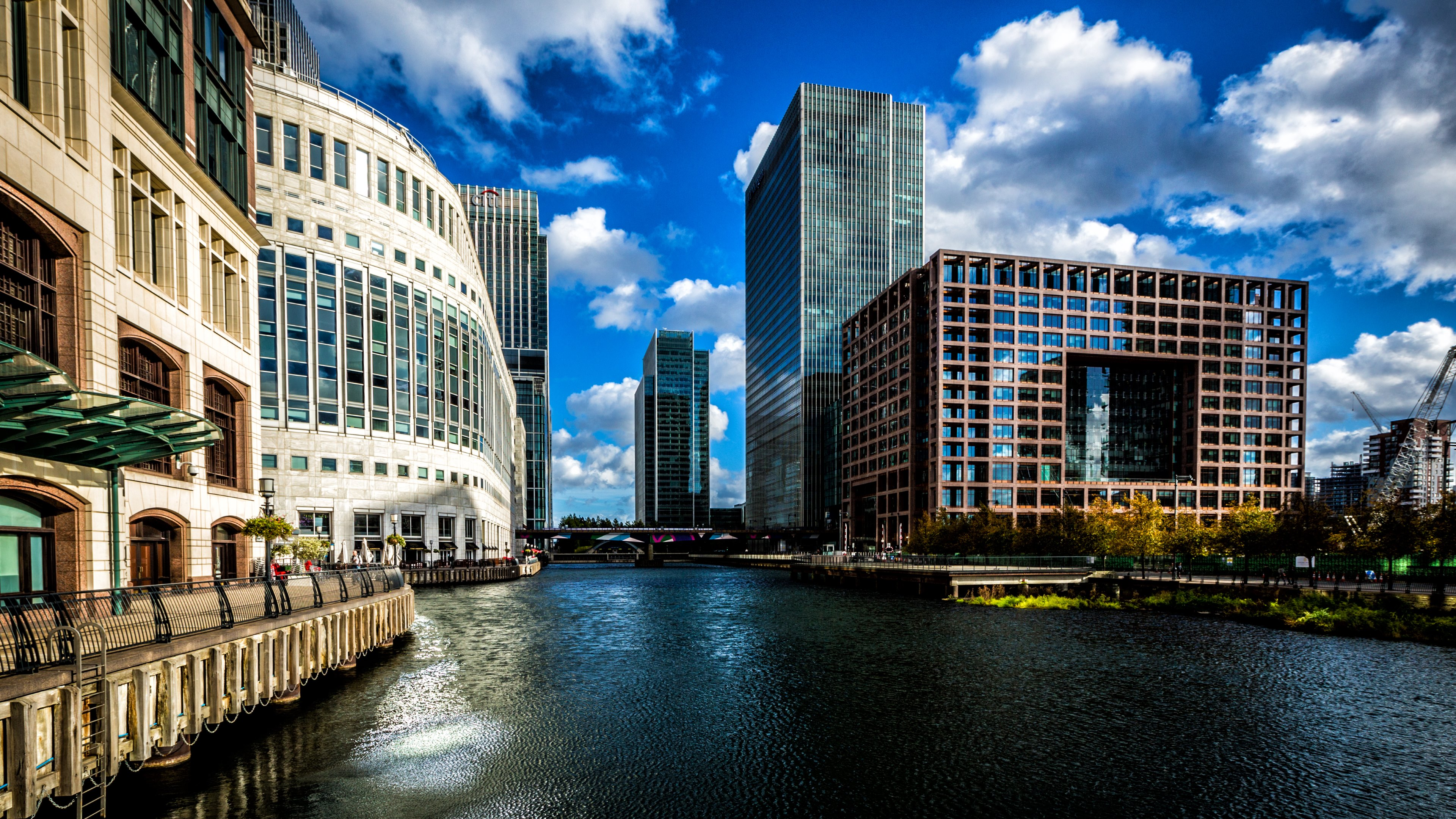 Canary wharf london architecture travel hd wallpapers for Architecture 4k wallpaper