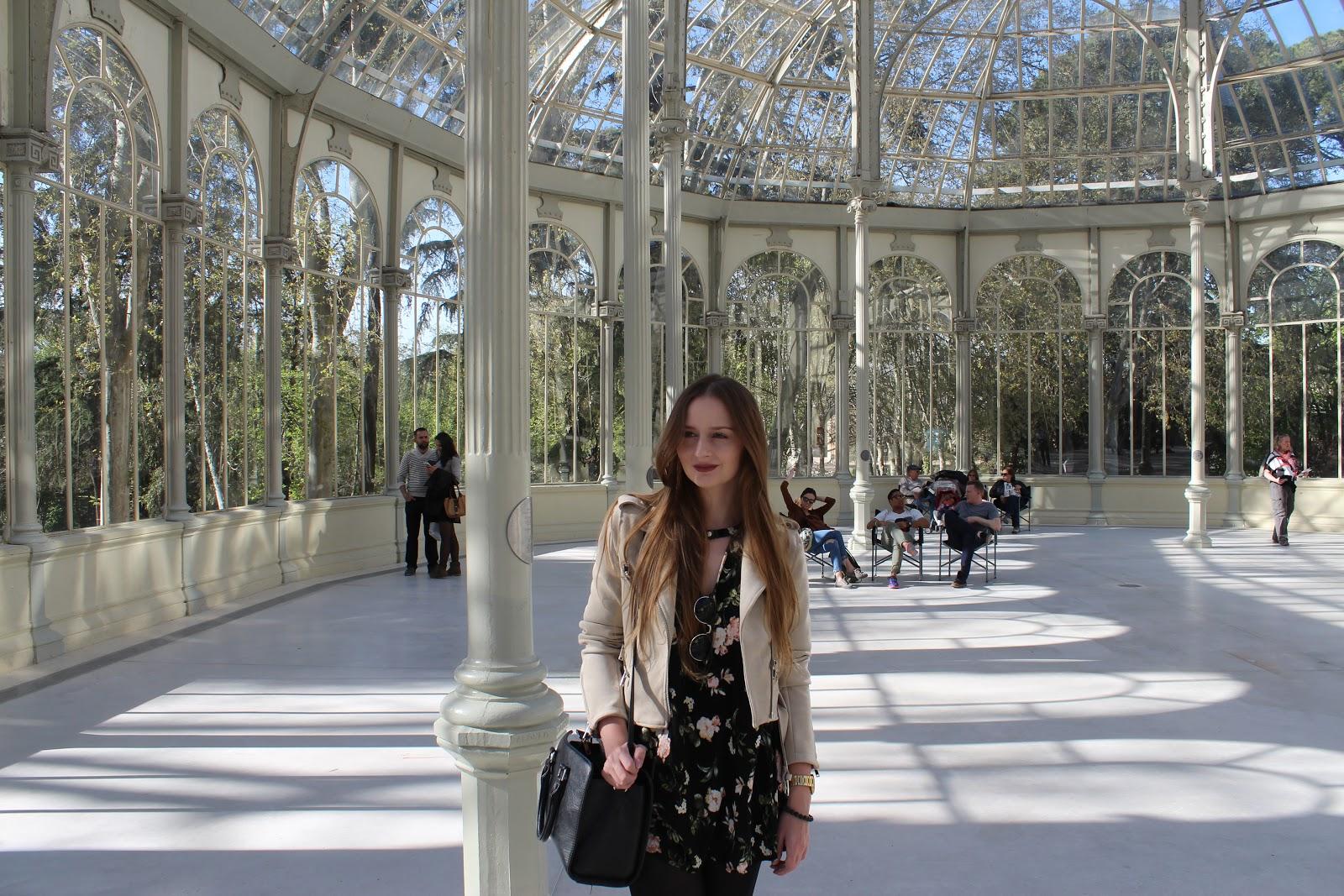 Pałac Kryształowy i Park Retiro