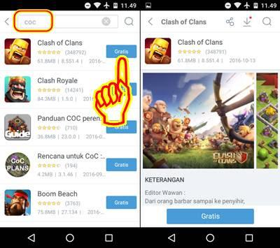 Cara Update COC Tanpa Play Store