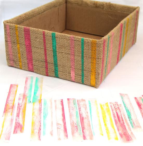 caixa organizadora, caixa supermercado, reciclagem, upcycling, sustentabilidade, acasaehsua, a casa eh sua, decoração, home decor