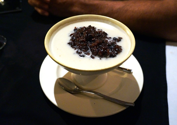Euriental | fashion & luxury travel | Balinese dessert bubur injun, black rice