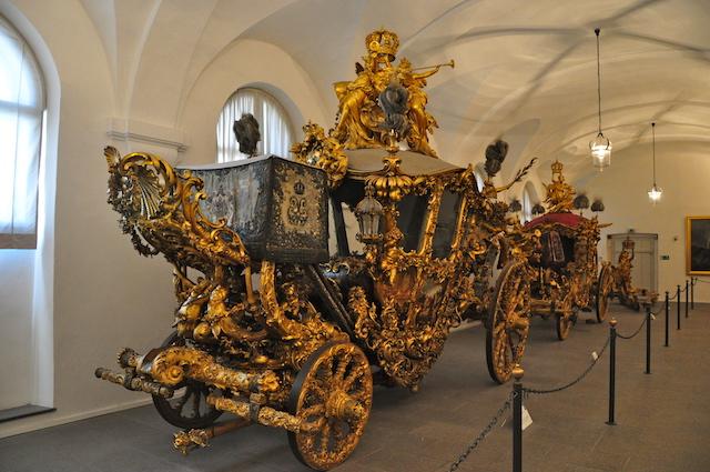 Museu das Carruagens no Palácio de Nymphenburg