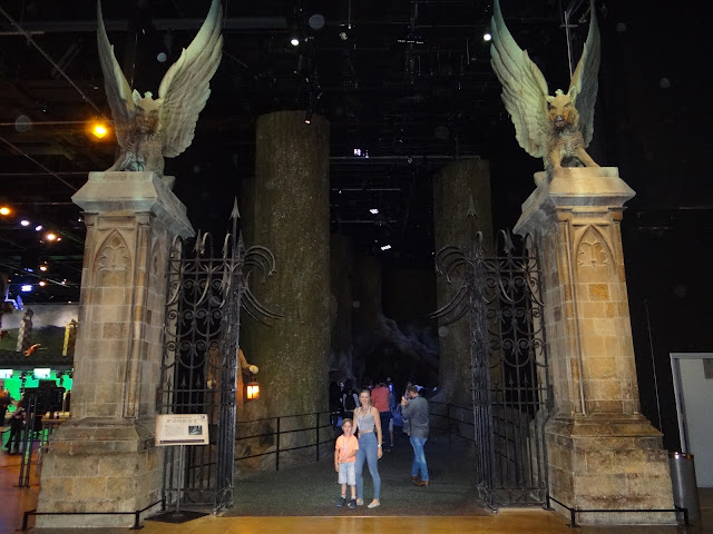 The Warner Bros. Studio Tour: The Forbidden Forest Gates