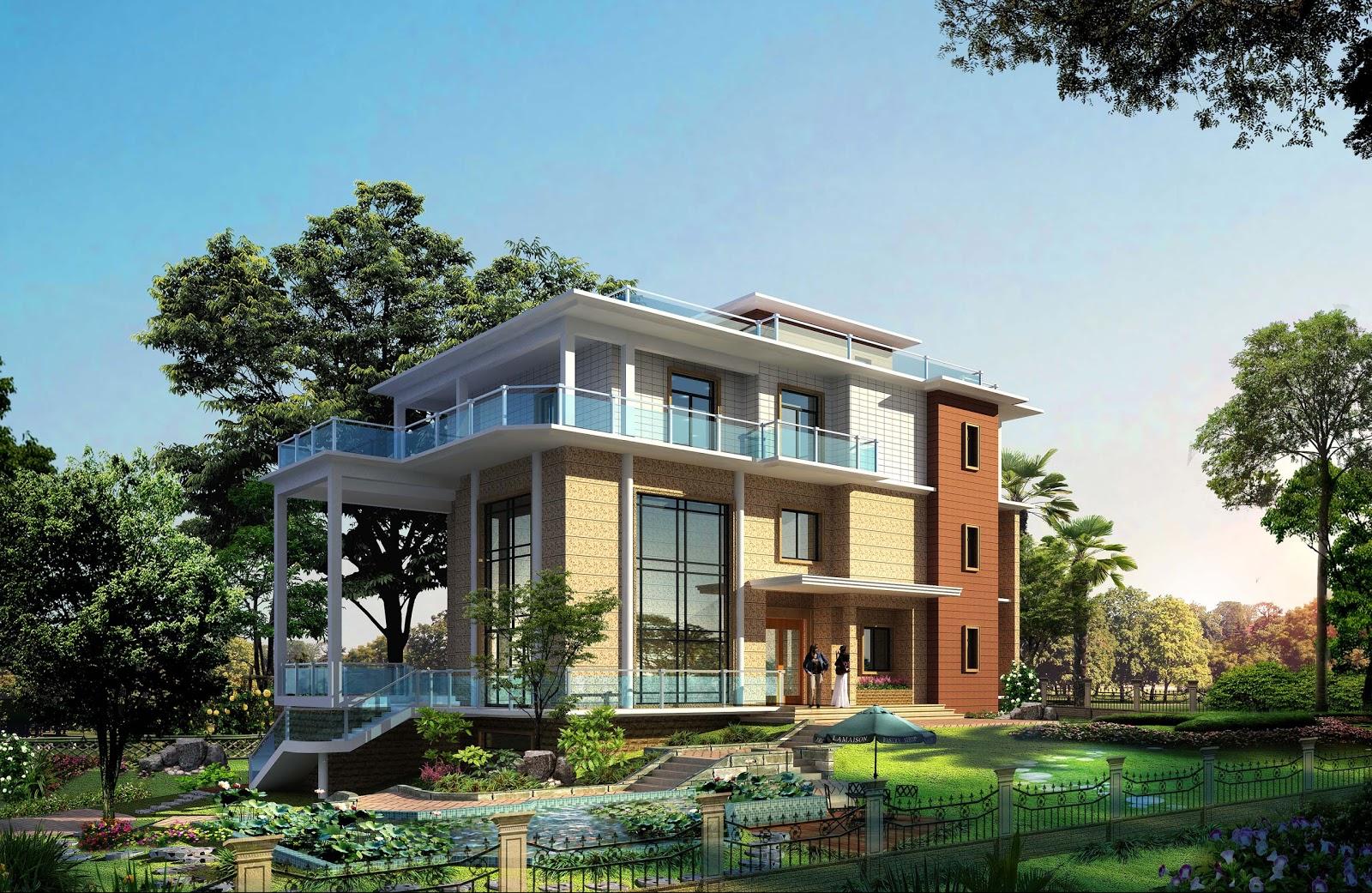 Chief Architect Software Architecture Villa Image Architecture Rendering
