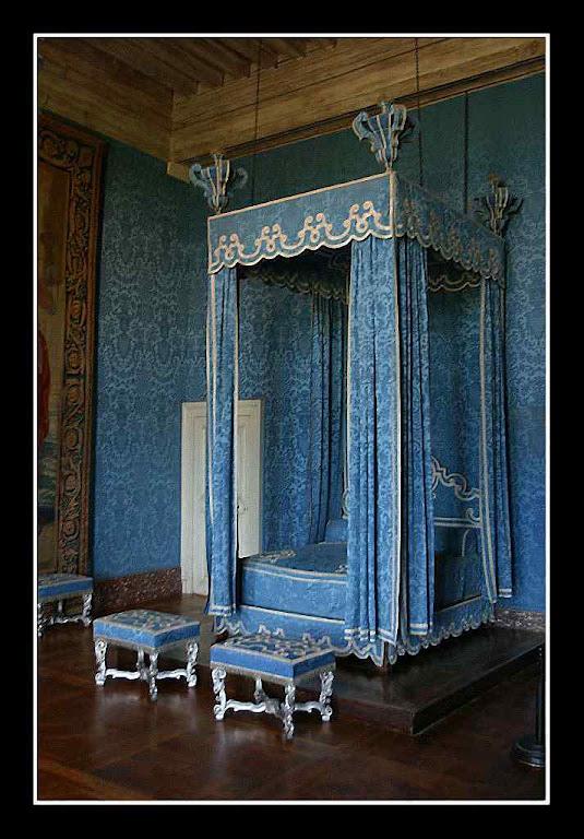 Chambord uma das salas interiores restauradas no século XIX