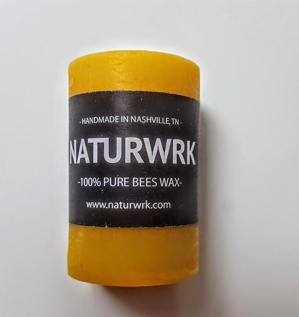 naturwrk beeswax candle
