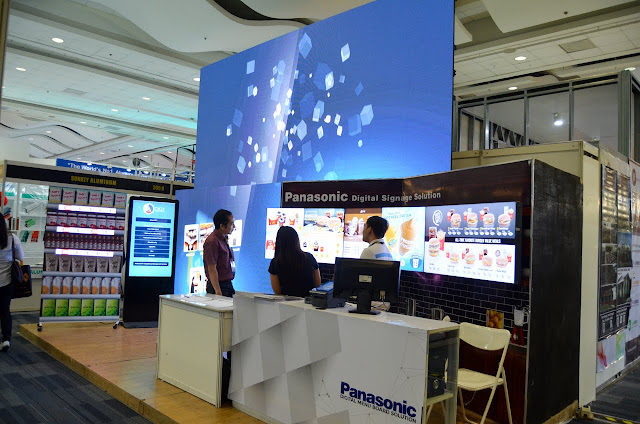 Panasonic exhibit booth