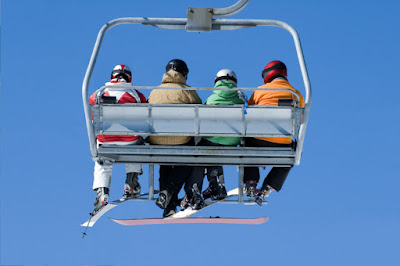 4 person chairlift quad