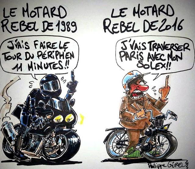 Philippe Gürel: Motard rebelle