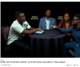 Who's the Bigger Star Here Kevin Hart or Michael Dapaah