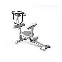 Element Fitness Commercial Stretch Machine, heavy-duty solid steel frame, quality double-stitched high-density upholstered seat & knee pad