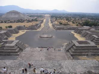 Meksika Teotihuacan piramitleri