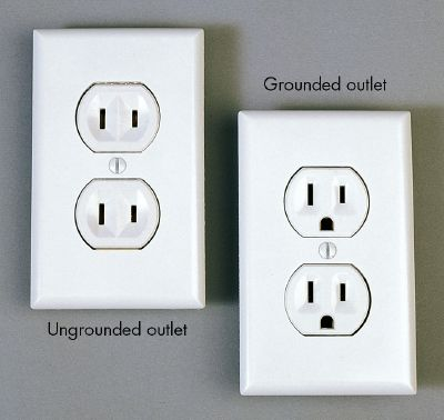 GEN3 Electric (215) 352-5963 Ungrounded outlets
