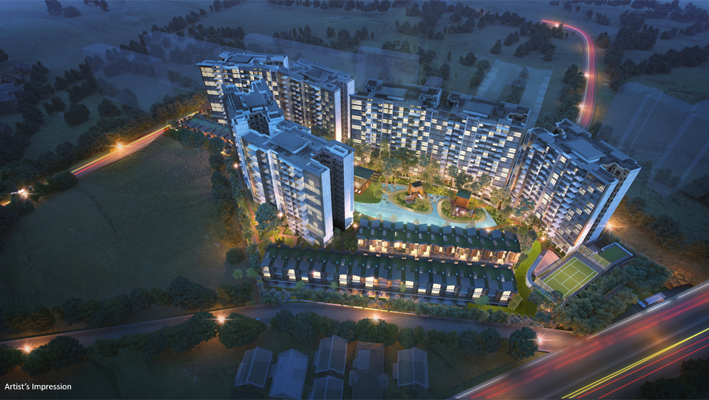 Affinity at Serangoon - Aerial View