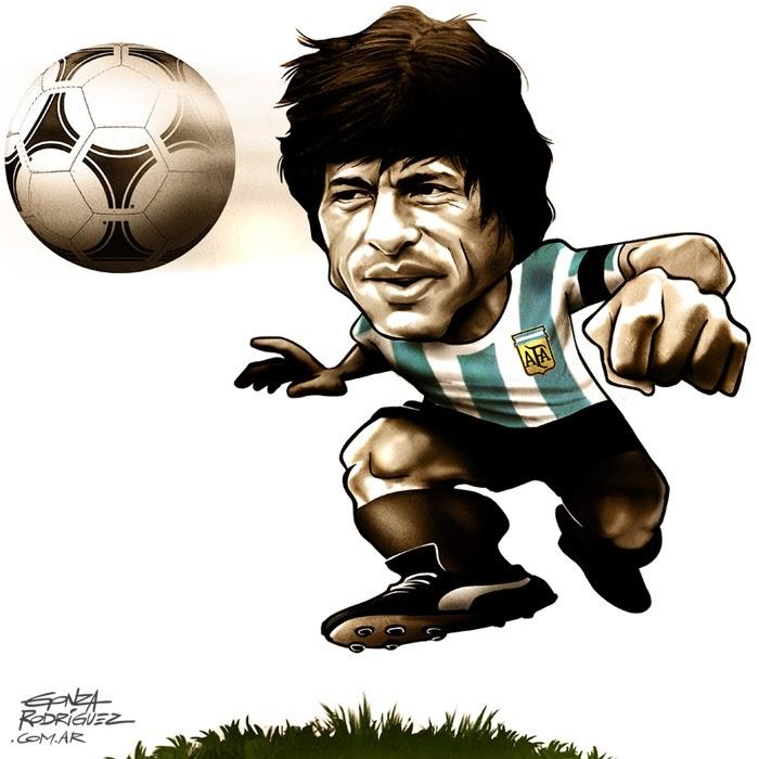Resultado de imagen para caricatura de DANIEL PASSARELLA
