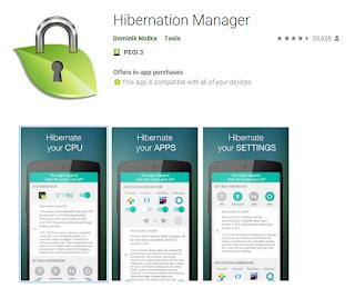 Google Apps, UTILITIES: HIBERNATION MANAGER