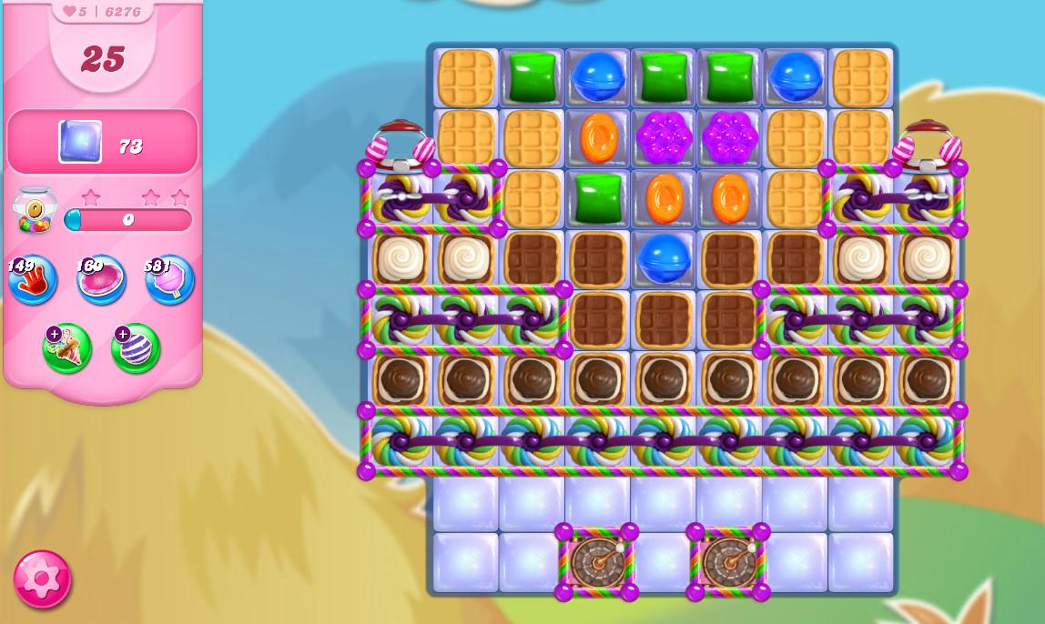 Candy Crush Saga level 6276