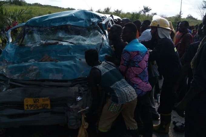 8 confirmed dead in gory accident in western Region