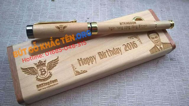 Quà tặng bút gỗ tuyệt đẹp dành tặng người thân và bạn bè