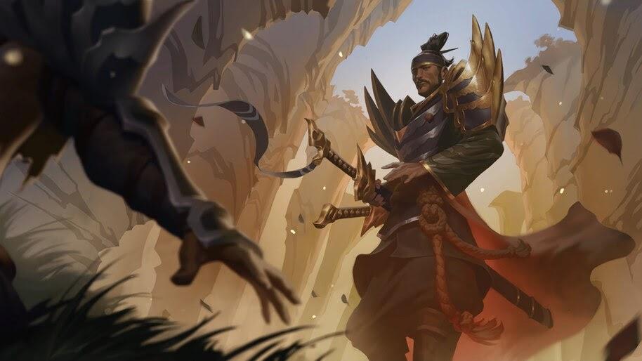 Yone Windchaser, Legends of Runeterra, 4K, #4.1529