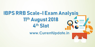 IBPS RRB PO Prelims Exam Analysis 11th August 2018 4th Slot Review