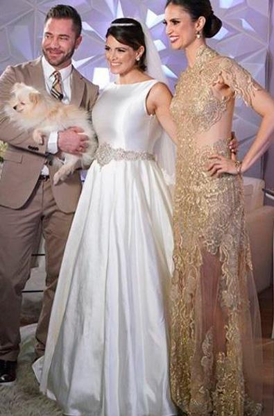 renata del bianco vestido noiva