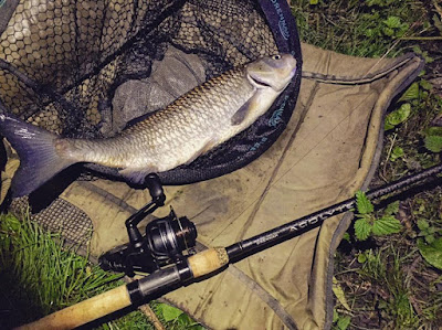 Testing out the new Drennan Acolyte 13ft Distance Feeder rod