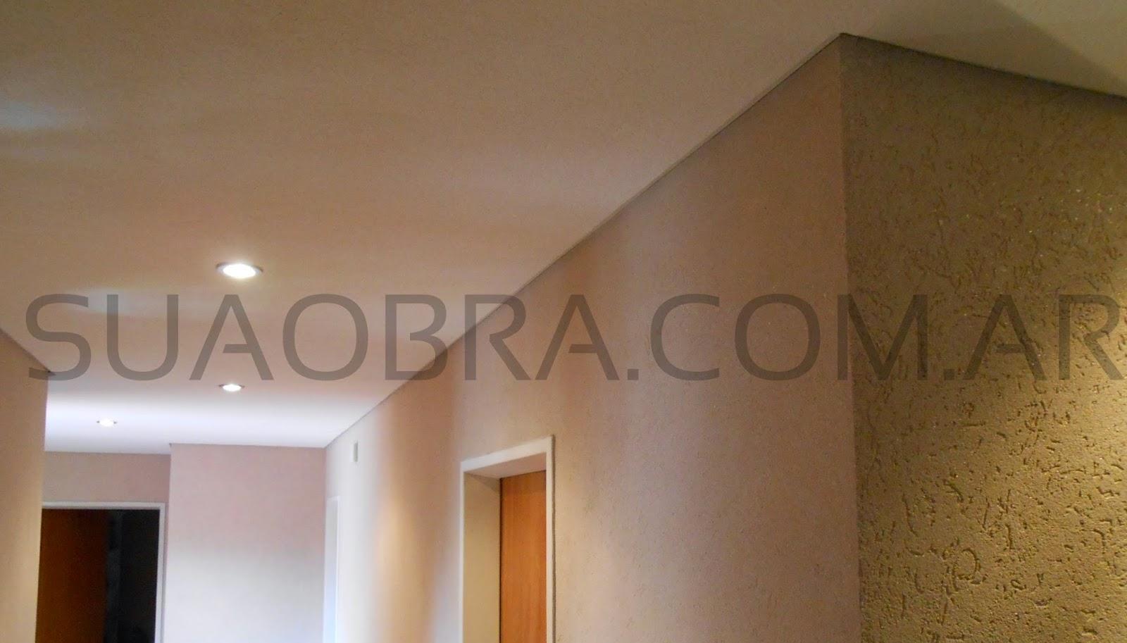Remodelación de interior con Durlock y Tarquini Revestimientos ...