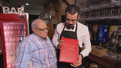 Na foto: Ary Toledo e Celso Portiolli  Crédito: Divulgação/SBT