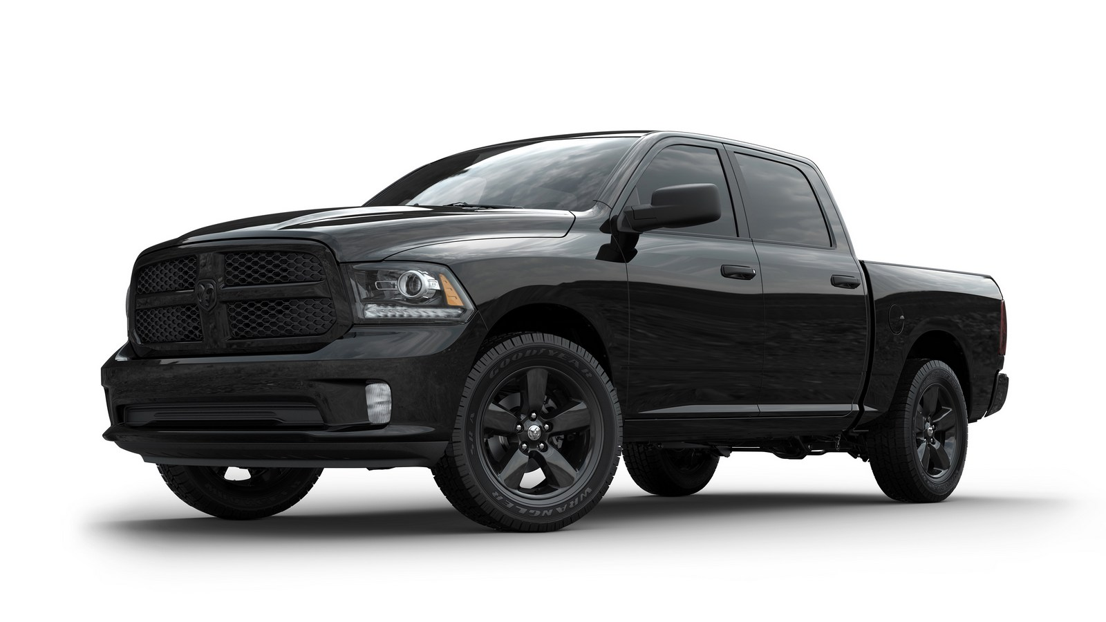 ram introduces updated 1500 sport and new black editions. Black Bedroom Furniture Sets. Home Design Ideas