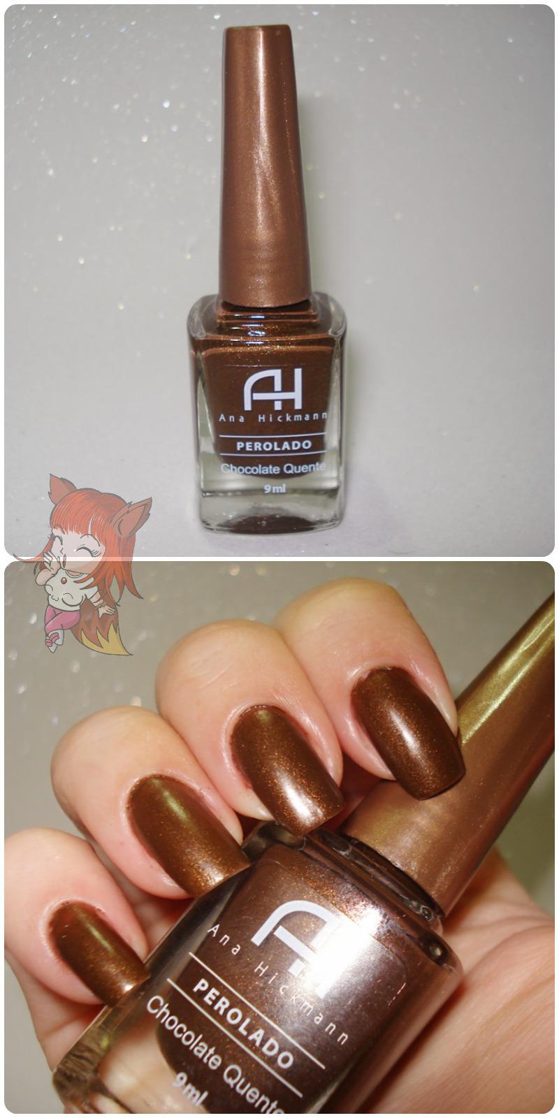 Esmalte Ana Hickmann :: Chocolate Quente - Resenha