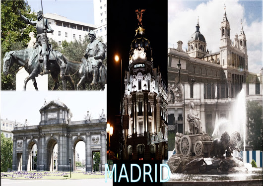 Collage sobre Madrid