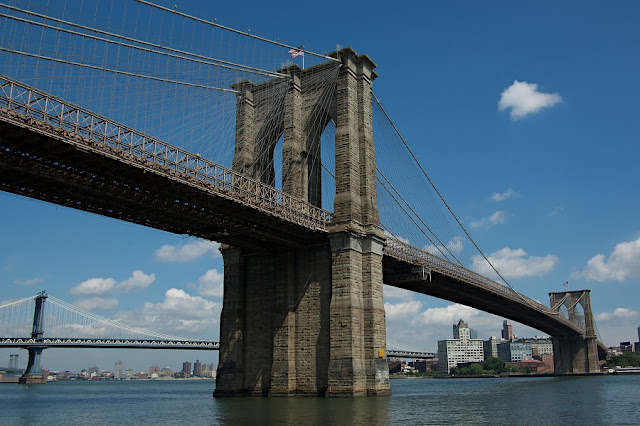 Brooklyn Bridge em Nova York