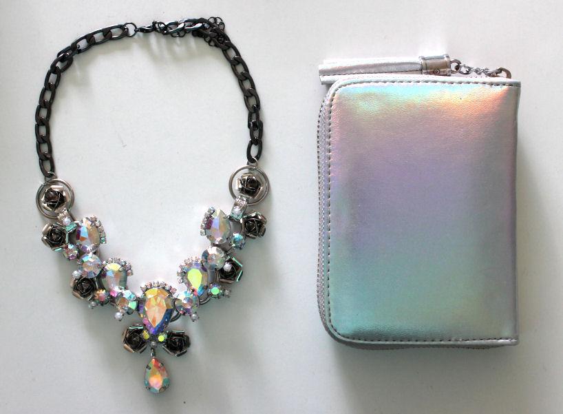 holographic, holographic wallet, holographic purse, sportsgirl holographic