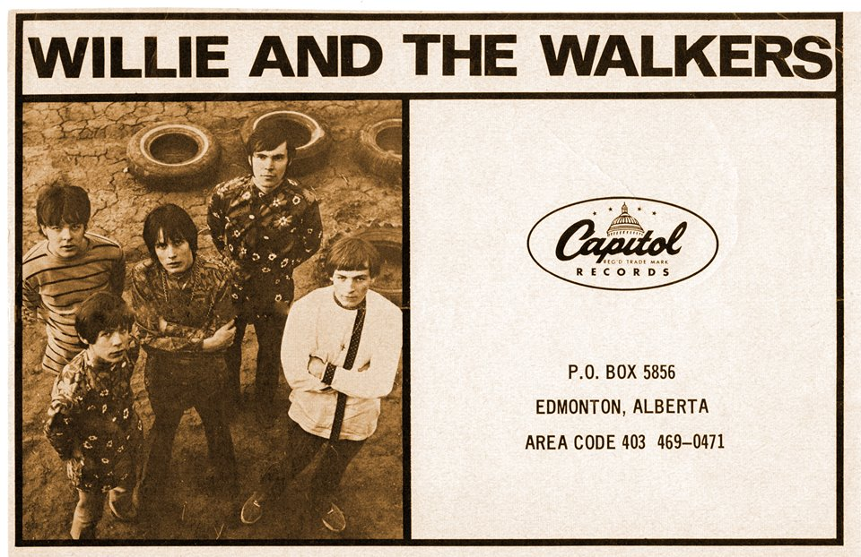 2767154df2b4 advertisement, Willie & the Walkers starting to dress like hippies, no  citation available, 1968, author's collection
