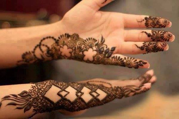 New Designs Mehndi Hands : Eid mehndi designs latest pakistani for hands