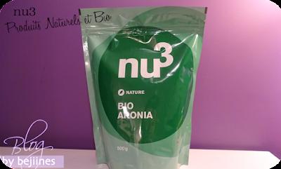 Box nu3 l'Expert Nutrition