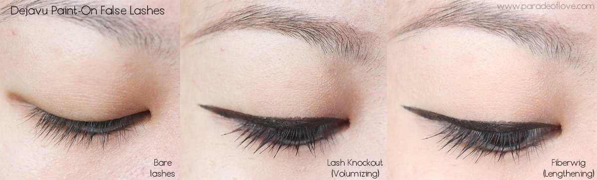 Exploring J-makeup with Dejavu Paint-On False Lashes   Stay-On ... c6ff63f3b1