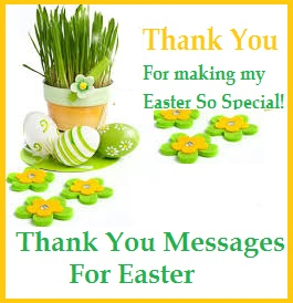 Thank you messages easter easter negle Gallery