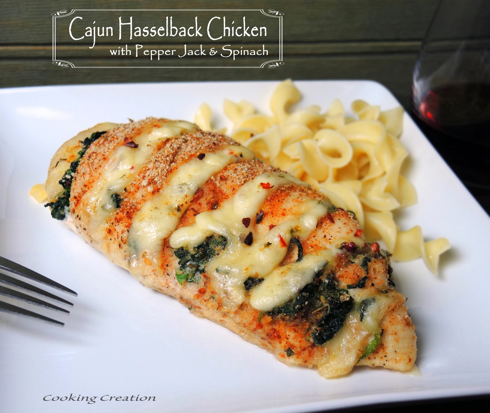 Cooking Creation: Hasselback Chicken