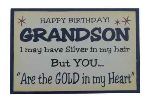 HD Happy Birthday Grandson