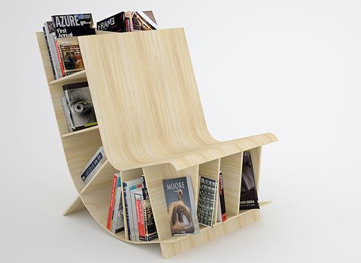 15 Brilliant Bookshelves And Unusual Bookcases Part 6