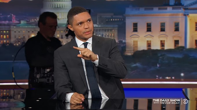 Trevor Noah wins top TV award
