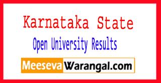 KSOU Karnataka State Open University Result of M.Sc | MBA | LLM